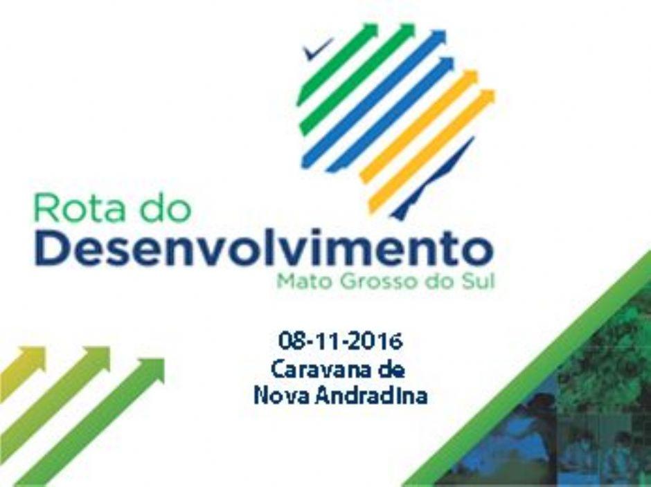 Nova Andradina organiza caravana para ''Rota do Desenvolvimento''