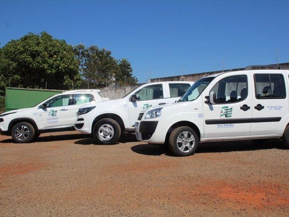 Saúde de Nova Andradina recebe três veículos e dois atenderão Casa Verde