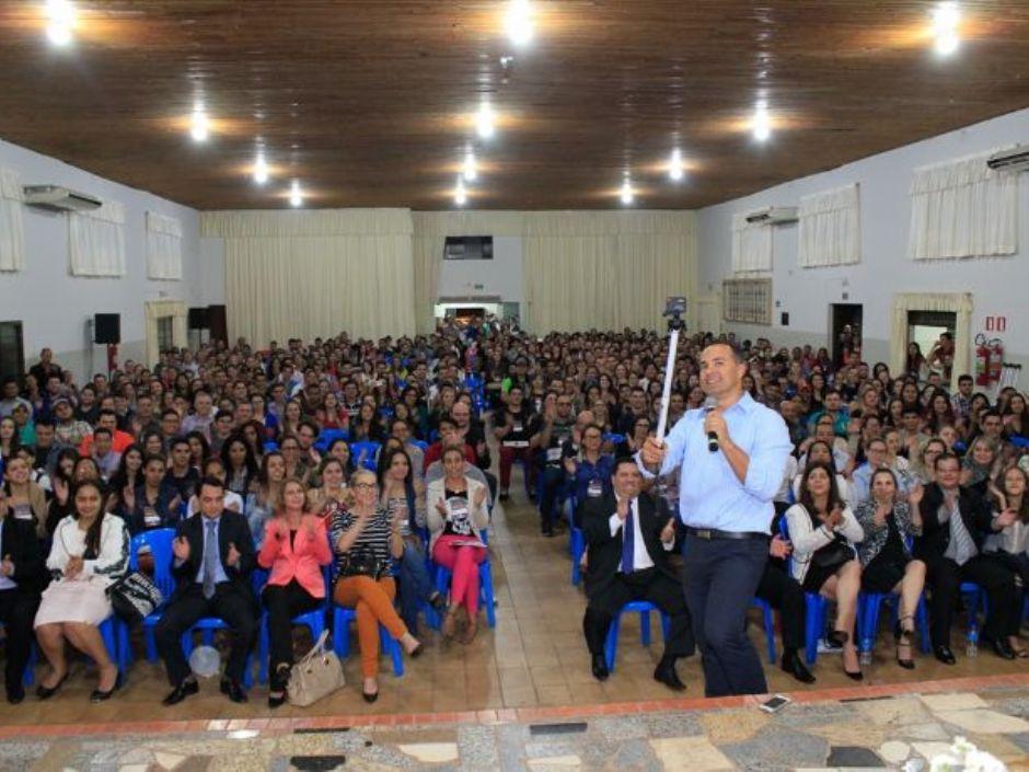 Palestra do XII Encontro de Pesquisa da Finan/Uniesp realizado em Nova Andradina