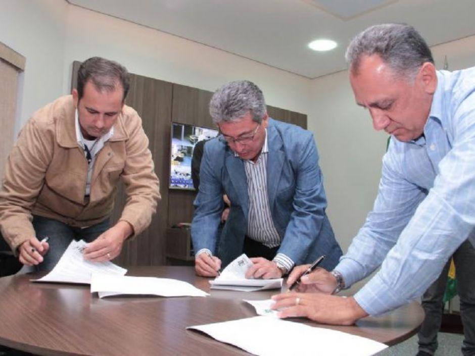 Assinatura de Convênio aprimora Segurança Pública de Nova Andradina
