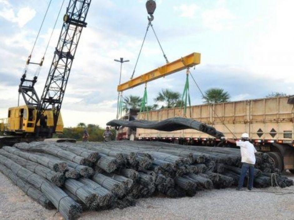 Terminal de Porto Murtinho integra multimodal para o transporte de aço até a Bolívia