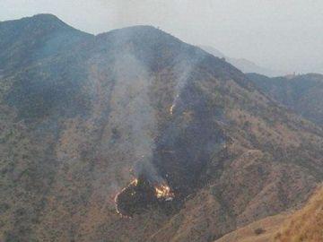 Avião caiu nos arredores da cidade de Abbottabad