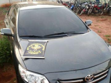 Carro foi roubado no Estado do Paraná