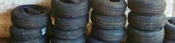  Carga de pneus está avaliada mais de R$ 15 mil