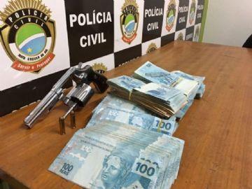Dinheiro apreendido chegou a R$ 112,7 mil