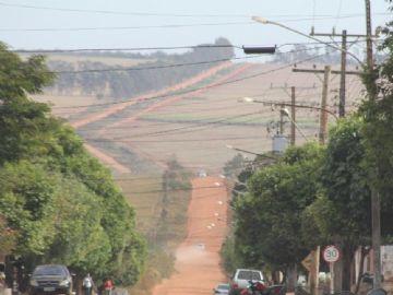 MS-473 de acesso a IFMS e aos bairros Laranjal, São Bento e Papagaio