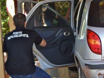 Papiloscopista no local onde ocorreu latrocínio aconteceu em Nova Andradina