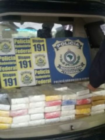 A droga estava sendo levada de Corumbá para a Capital