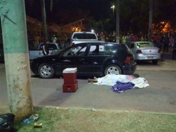 Crime aconteceu no meio da rua