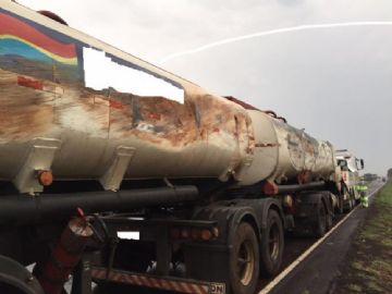 Empresa foi autuada em R$ 30 mil por derramamento de combustível e contaminação do solo na BR-163