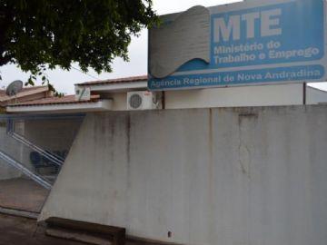 Unidade do Ministério do Trabalho e Emprego de Nova Andradina