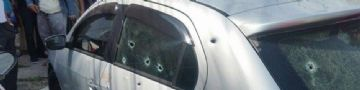Homens fizeram vários disparos contra o carro onde o PM estava