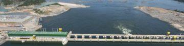 Usina Hidrelétrica Belo Monte fica localizada no rio Xingi, no Pará