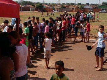 Mais de mil crianças participaram da ação
