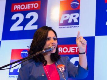 Deputada estadual Grazielle Machado
