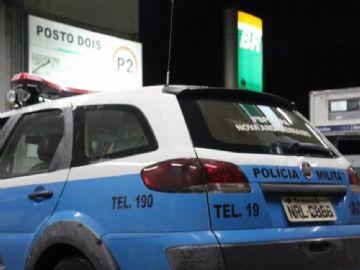 Posto de combustível é alvo de assaltantes no centro de Nova Andradina