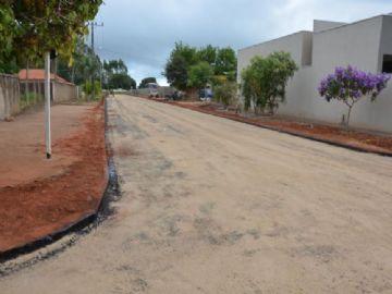 Taquarussu terá quase 100% de ruas pavimentadas