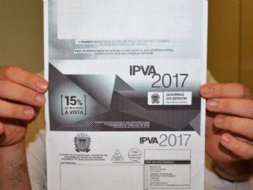 IPVA 2017: prazo para pagamento da terceira parcela vence nesta sexta-feira