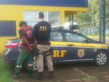 Homem que cometeu crime bárbaro é preso pela PRF em MS