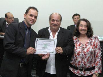 Pioneiro do rádio em Nova Andradina recebe moção de parabenização