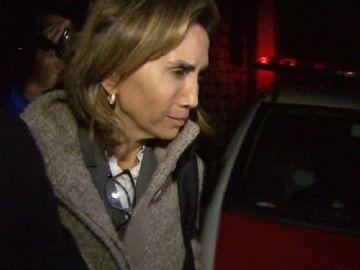 Prefeita Dárcy Vera durante depoimento na Procuradoria Geral do Estado em SP