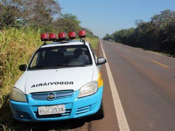 PMR de Batayporã prende homem ao realizar ultrapassagem indevida