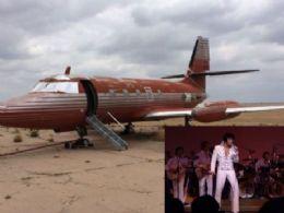Avião de Elvis Presley será leiloado este mês