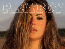 Plus size Fluvia Lacerda é capa de colecionador da PlayBoy Verão 2017