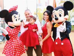 Bella Falconi e marido dão grande festa para celebrar os dois anos da filha Vicky