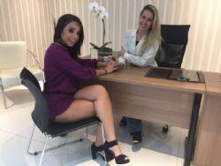 Sósia de Anitta, Larissa Andjara quer mudar o visual e ficar com bocão