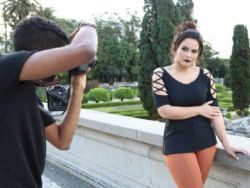 Geisy Arruda fotografa campanha Plus Size