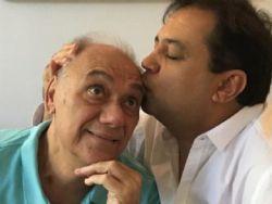 Geraldo Luis visita Marcelo Rezende