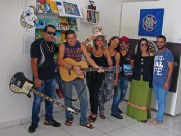 Sarau cultural reúne diversas manifestações artísticas nesta quinta