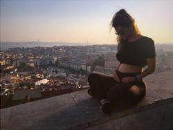 Kelly Key comemora 21ª semana de gravidez e mostra barriga: ''Vem Artur''