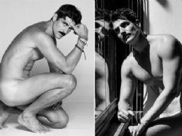 Reynaldo Gianecchini posa nu em ensaio sensual