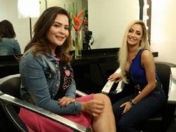 Geisy Arruda entrevista ex-Panicat Babi Muniz no quadro ''Venci o preconceito''