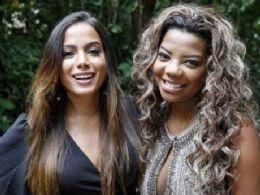 Anitta e Ludmilla confirmam parceria e avisam: ''Vocês não estão preparados''