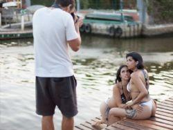 Karina Barros e a noiva revelam lugar mais inusitado onde já fizeram sexo
