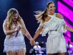 Marília Mendonça desabafa e nega veto a participação de Ivete Sangalo em show na BA