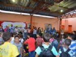 Escola Municipal recebem alunos para primeiro dia letivo em Taquarussu