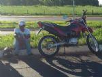 Motociclista embriagado sofre queda de moto na saída para Casa Verde