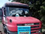 Motorista foge para o Paraguai deixando 345 kg de cocaína