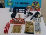 PMR apreende armas e munições na MS-164