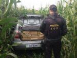 Traficante abandona carro com 643 kg de maconha ao ver o DOF na MS-286