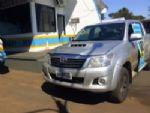 Após perseguição, polícia apreende caminhonete adulterada na fronteira