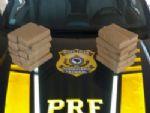 PRF prende jovem com 10 kg de maconha na BR-163