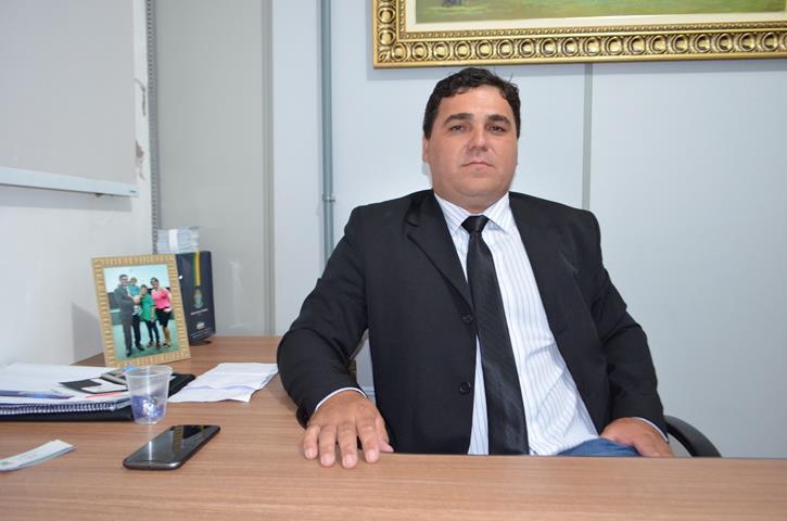 Vereador do PSDB, Deildo Piscineiro – Foto: Glaucia Piovesan/Jornal da Nova
