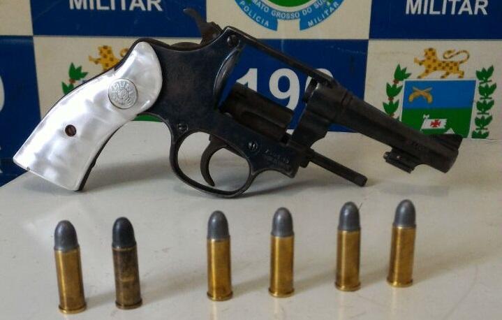 Arma utilizada pelo bandido na ação delituosa – Foto: WhatsApp/Jornal da Nova