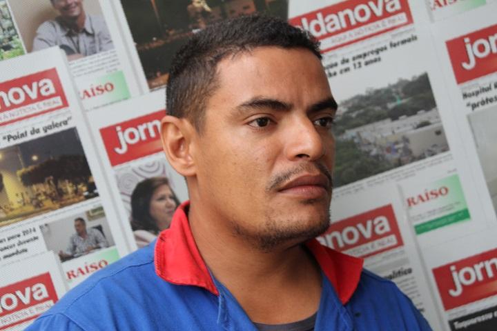 """Marciliano Souto da Silva de 35 anos, conhecido como """"Ninja das Podas"""" está foragido – Foto: Jornal da Nova/Arquivo"""