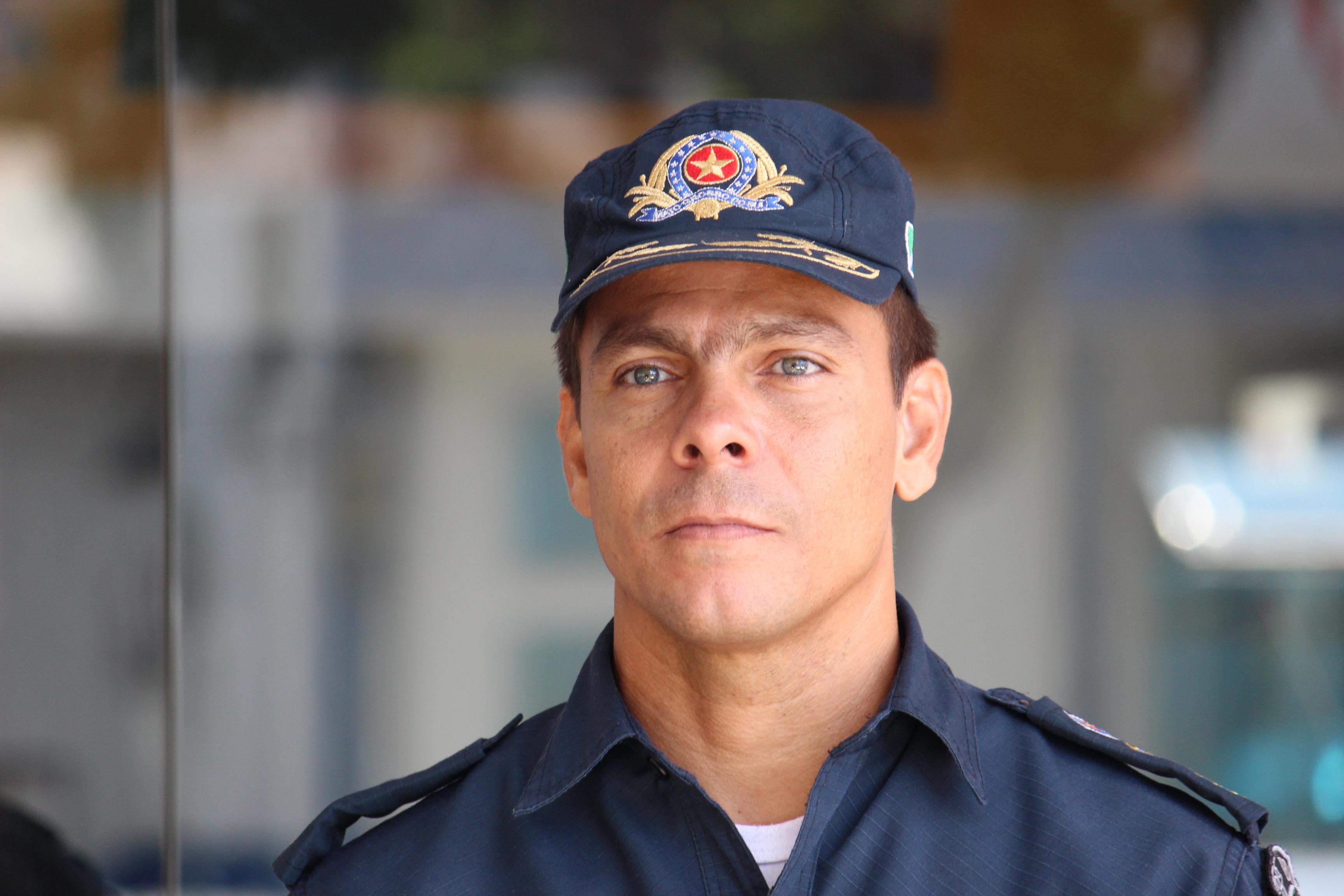 Comandante do 8º Batalhão de Polícia Militar, tenente-coronel André Henrique de Deus Macedo - Foto: Jornal da Nova